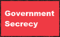 185 government secrecy