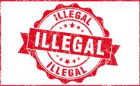 185 illegal